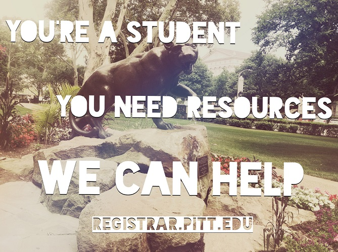 New Student Resources Page