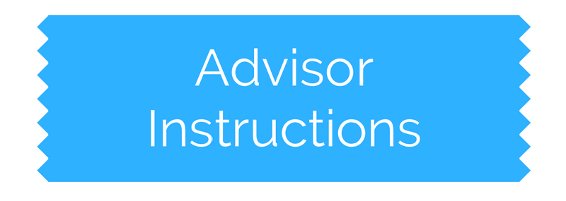 Advisor Instructions