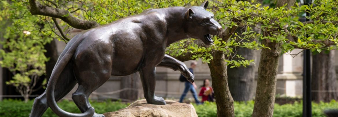 Statue of panther