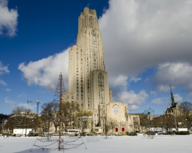 Cahtedral in the wintertime