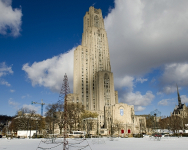 Cathedral in the wintertime